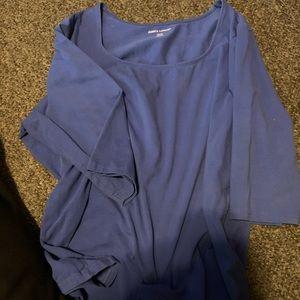 Dusty blue shirt